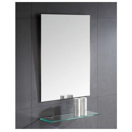 Miroir chauffant Avec et sans Cadre - Dos MDF Gris