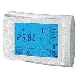 Thermostat intérieur en saillie programme journalier 5 à 35 °C