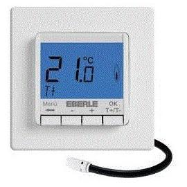Thermostat intérieur encastré Eberle FITNP-3L programme journalier 5 à 30 °C