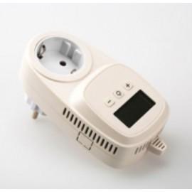 Thermostat intérieur en façade programme journalier 5 à 35 °C
