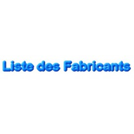 "Espace ""Fabricants"""