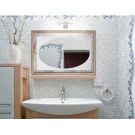 Miroirs Décorés Cadre Bois