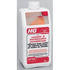HG effaceur pour voiles de ciment tenace et restes de mortier (HG limex)