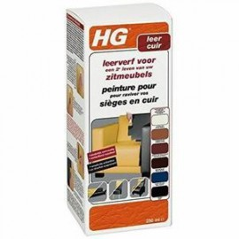 HG Peinture pour Cuir Noir