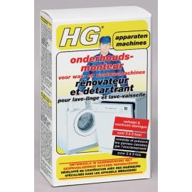 HG rénovateur et détartrant pour lave-linge et lave-vaisselle