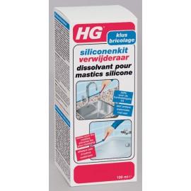 HG dissolvant pour mastics silicones
