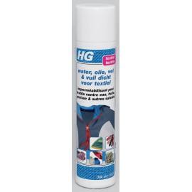 HG imperméabilisant pour textile contre eau, huile, graisse & autres saletés - spray