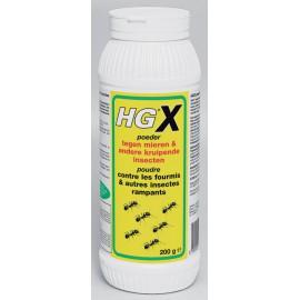 HGX poudre contre fourmis & autres insectes rampants