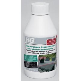 HG intensificateur de couleur & protecteur pour tables de jardin en pierre