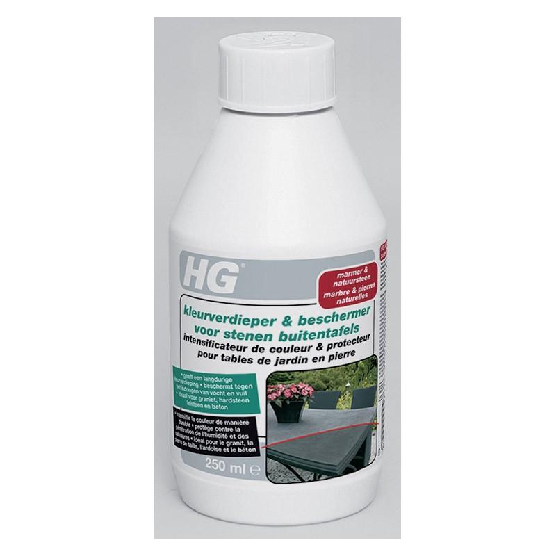 HG intensificateur de couleur protecteur table de jardin en pierre\