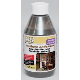 HG cire liquide pour meubles anciens - brune