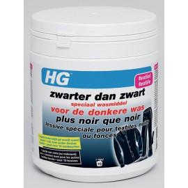 HG plus noir que noir, lessive spéciale pour textiles noirs ou foncés