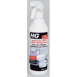 HG spray pour l'hygiène quotidienne des toilettes