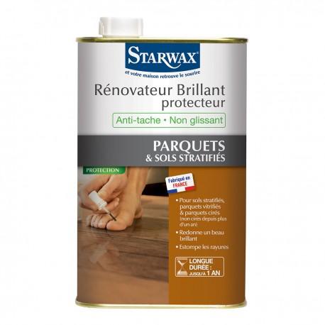 starwax r novateur protecteur parquets stratifi s vitrifi s. Black Bedroom Furniture Sets. Home Design Ideas