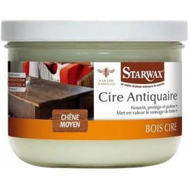 Starwax Cire Antiquaire - Pâte 375 ml - Chêne Moyen