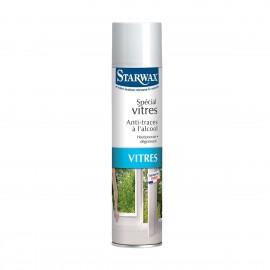 Starwax - Nettoyant aérosol anti-traces spécial vitres à l'alcool