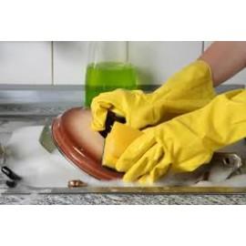 Vaisselles à la main